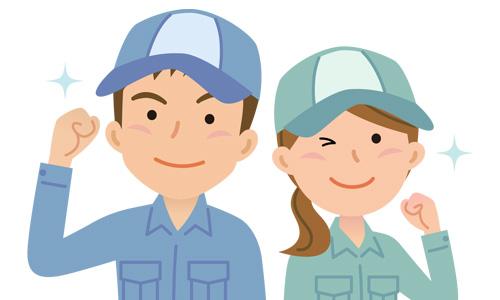 三つの安心「水道局指定工事店が伺います。創業21年 50万件の作業実績」